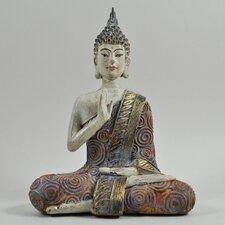 Buddha Colourful Sitting Figurine