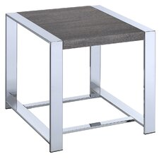 Lauritz End Table by Fox Hill Trading