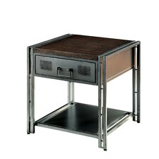 Farina End Table by 17 Stories
