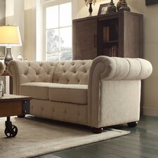 Fenmore Button Tufted Chesterfield Loveseat