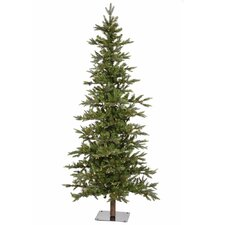 Shawnee 7' Green Fir Artificial Christmas Tree with 350 LED White Lights with Stand