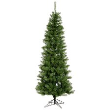 6.5' Green Pine Artificial Christmas Tree with 493