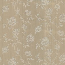 "33' x 20.5"" Isabel Jacobean Floral Trail Wallpaper"