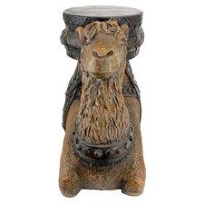 The Kasbah Camel Sculptural End Table by Design Toscano