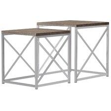 Derringer 2 Piece Nesting Tables by Mercer41™