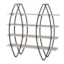 "Christies 60"" Accent Shelves Bookcase"