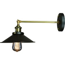 Edison 1-Light Armed Sconce