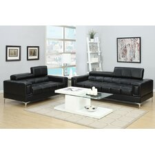 Alisa Sofa and Loveseat Set