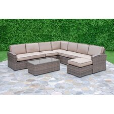 Candor 7 Piece Deep Seating Group with Cushions by Darby Home Co®