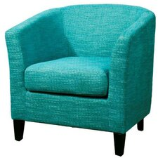 Sheri Fabric Barrel Chair by New Pacific Direct