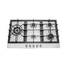 """34"""" Gas Cooktop with 5 Burners"""