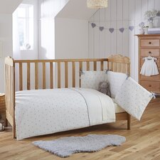 Lullaby Hearts 2-Piece Cot Bedding Set