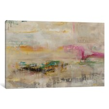 Luxe Galaxy Painting Print on Wrapped Canvas by Mercury Row
