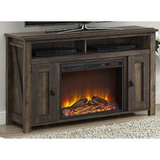 "Gilby 48"" TV Stand with Electric Fireplace"
