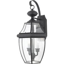 Saddler 2-Light Outdoor Wall Lantern