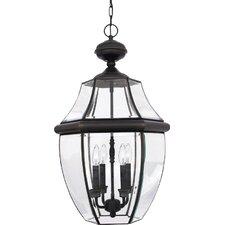 Saddler 4-Light Outdoor Hanging Lantern