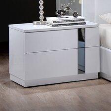 Jody 2 Drawer Nightstand by Global Furniture USA