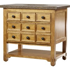 Malibu 36 Single Honey Alder Bathroom Vanity Set by James Martin Furniture