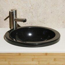 Granite Self Rimming Bathroom Sink