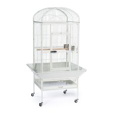 Large Dome Top Bird Cage with Casters