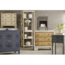 Brookline Tall 72 Etagere Bookcase by Crestview Collection