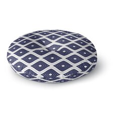 Ogee Inverted Round Floor Pillow