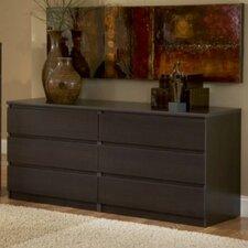 Lois 6 Drawer Dresser