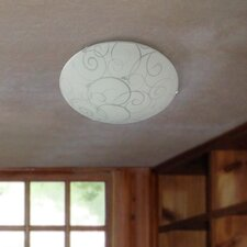 Emerita 1-Light Flush Mount