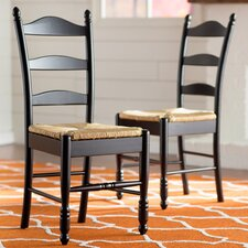 Leonora Ladder Back Side Chair (Set of 2) by One Allium Way