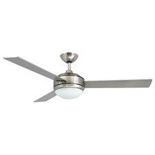 2-Light Silver Ceiling Fan Light Kit