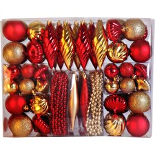 102 Piece Ornament Set