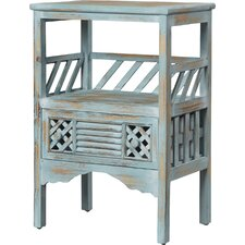 Distressed End Table by Coast to Coast Imports LLC