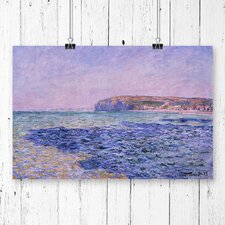 'Seascape' by Claude Monet Painting Print