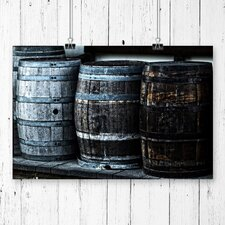 Distillery Barrel Beer Keg Photographic Print