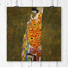 Hope II by Gustav Klimt Painting Print