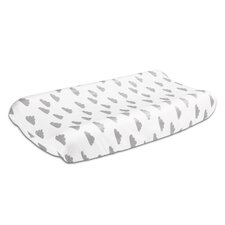 Cloud Print Changing Pad Cover