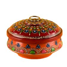 Round Decorative Pot