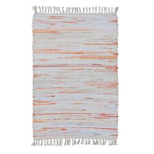 Orange/Grey Area Rug