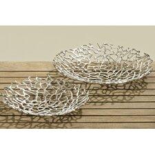 Fiden 2 Piece Decorative Bowl Set