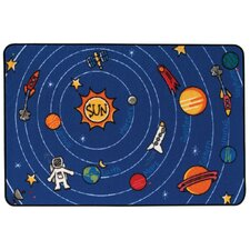 Spaced Out Kids Area Rug