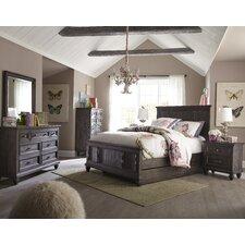 Delpha Panel Customizable Bedroom Set