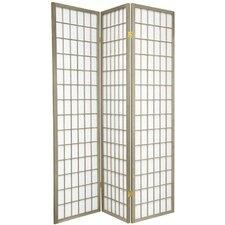 "Leiva 70"" x 42"" Window Pane 3 Panel Room Divider"