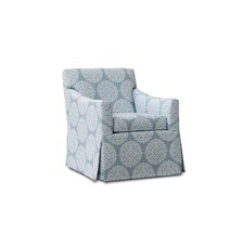 Florence Swivel Arm Chair by Uniquely Furnished