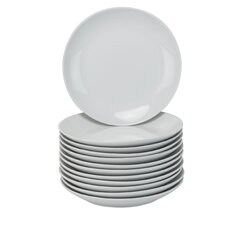 """Wagner 7.5"""" Coupe Catering Salad Plate (Set of 12)"""