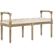 Laclair Wood Entryway Bench by One Allium Way