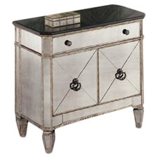 Sandbach Small Mirrored 1 Drawer Chest by House of Hampton