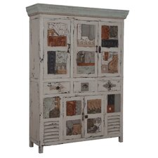 Greenville 3 Drawer Artifact Collage Accent Cabinet by One Allium Way