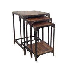 Briarwood 3 Piece Nesting Tables by 17 Stories