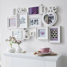 Collage-Rahmen Love