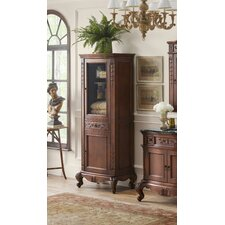 Bordeaux Curio 29.13 W x 72.06 H Linen Tower by Ronbow